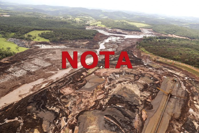 Vigilantes são vítimas do rompimento da barragem em Brumadinho